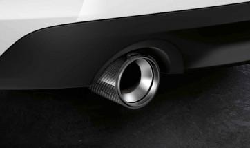 BMW M Performance Endrohrblende Carbon 1er F40 2er F44 X2 F39