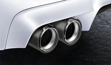 BMW M Performance Endrohrblende Carbon M5 F10 M6 F06 F12 F13