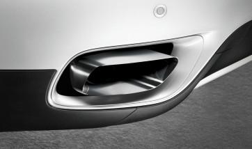 BMW M Performance Endrohrblende chrom 8-Zylinder-Optik 5er F11 535d 535dX (6-Zylinder)