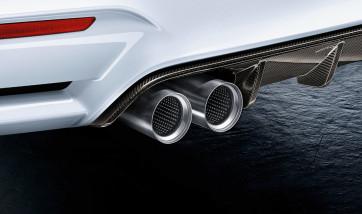 BMW M Performance Endrohrblende Titan M2 F87 M3 F80 M4 F82 F83