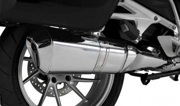 BMW Endschalldämpfer verchromt K52