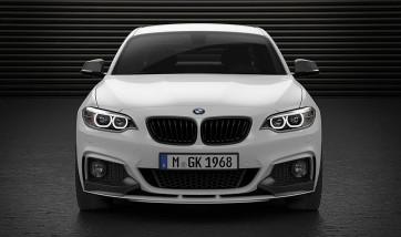 BMW M Performance Frontaufsatz schwarz matt 2er F22