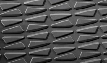 BMW Satz Gummimatten hinten anthrazit, passend für X1 E84