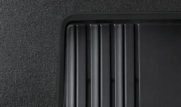 BMW Satz Gummimatten BASIC hinten anthrazit, passend 1er F20