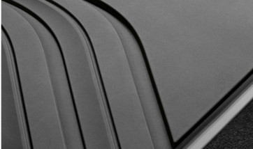 BMW Satz Gummimatten URBAN hinten anthrazit, passend 1er F20