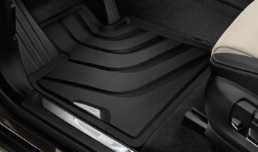 BMW Allwetterfußmatten schwarz vorne X3 F25 X4 F26