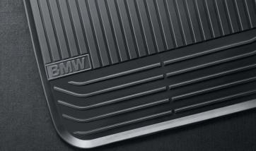 BMW Satz Gummimatten vorne anthrazit, passend für Z4 E89 (von 09/11)