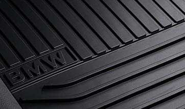 BMW Gummimatten schwarz hinten 5er F07 GT