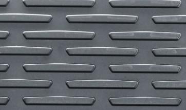 BMW Satz Gummimatten vorne anthrazit, passend für 1er E81 E82 E87 E88
