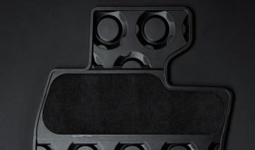 MINI Satz Gummimatten vorne schwarz für R50 R52 R53