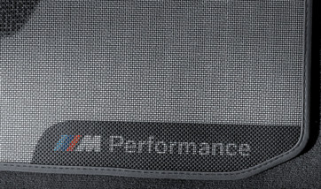 BMW Performance Fußmatten Satz hinten 1er F21 2er F22 M2 F87
