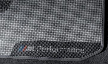 BMW M Performance Fußmatten hinten 4er F32 M4 F82