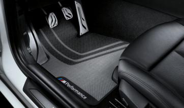 BMW Performance Fußmatten Satz vorne 3er F30 F31 F80 M3