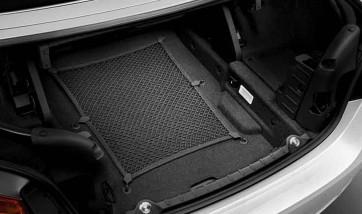 BMW Gepäcknetz mit sechs Fixierpunkten 1er F20 F21 2er F22 F23 F87M2 3er F30 F80M3 4er F32 F36 F82M4