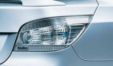 BMW Heckleuchten weiß 5er E60 Limousine