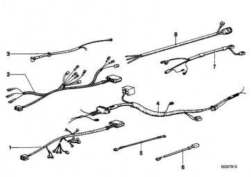 Kabelsatz Bremsbelagverschleissanzeige  3er 5er 6er 7er  (61121367674)