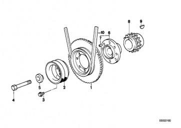 Sechskantschraube M16X1,5X120     3er 5er Z3  (11211721100)