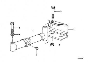Sechskantschraube mit Scheibe M6X12-Z1        3er 5er 6er 7er 8er X5 Z1 Z3 MINI  (07119915017)
