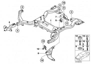 Schraube selbstschneidend M12X1,5X61,7    MINI  (33306770527)