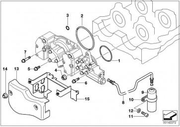 Zylinderschraube mit Scheibe M6X25-U1        1er 3er 5er 6er 7er X3 X5 X6 Z3 Z4 Z8 MINI  (07119905811)