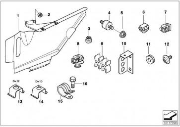 Sechskantschraube mit Scheibe M6X12-U1        1er 3er 5er 6er 7er X1 X5 Z8  (07119904511)