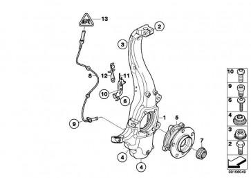 Bundschraube M12X1.5X45-10.9 X5 X6  (31206771764)