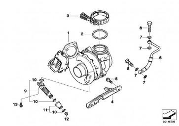 Austausch Turbolader  5er 7er  (11657794260)