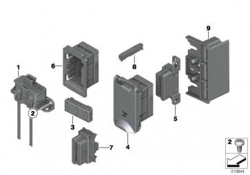 Buchsengehäuse 16 POL. OBD     1er 3er 5er 6er 7er X1 X3 Z4  (61136954580)