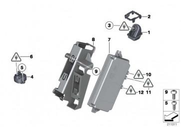 Rückfahrkamera  1er 3er 5er 7er X1 X3 X5 X6  (66539240351)