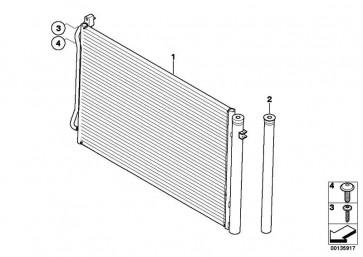 Kondensator Klimaanlage mit Trockner  1er 3er X1 Z4  (64539229022)