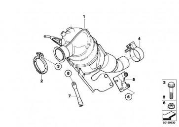 Austausch Dieselpartikelfilter  1er  (18307798309)