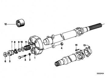 Sechskantschraube M10X50/10.9     3er 5er Z1  (26111209498)