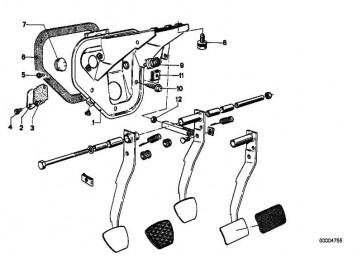 Sechskantschraube mit Scheibe M8X16-Z3         3er 5er 6er 7er 8er  (07119915066)
