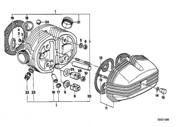 Zylinderkopfhaube rechts ALU              (11121263761)