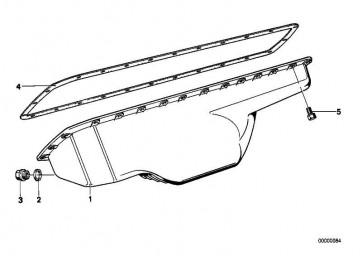 Sechskantschraube mit Scheibe M6X20-Z3         3er 5er 6er 7er 8er Z1 Z3  (07119915031)