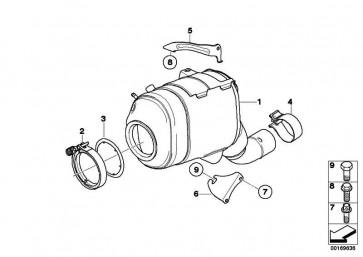 Austausch Dieselpartikelfilter  3er 5er  (18307808235)