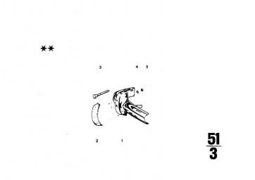 Sechskantmutter selbstsichernd M6              1er  3er 5er 6er 7er 8er X1 X3 X5 X6 Z1 Z3 Z4 Z8 MINI  (64509123157)