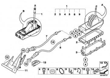 Clip für Bowdenzug  MINI  (25117515461)