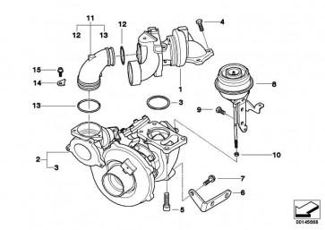 Austausch Turbolader  5er  (11657794571)