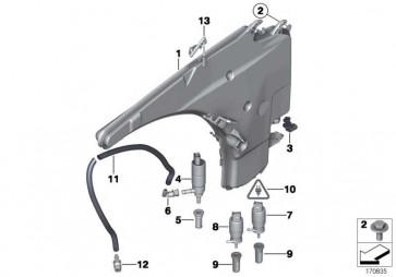 Behälter Scheibenwaschanlage  1er 3er X1  (61667238666)