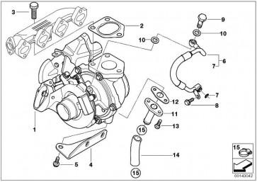 Austausch Turbolader  1er 3er  (11657795497)
