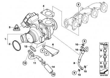 Austausch Turbolader  1er 3er 5er X3  (11658506892)