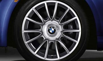 BMW Alufelge Individual V-Speiche 152 silber 10J x 19 ET 45 Hinterachse X5 E53