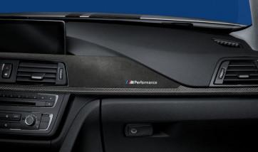 BMW M Performance Interieurleisten Carbon mit Alcantara 3er F30 F31 F34 GT 4er F36