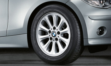 BMW Alufelge Radialspeiche 139 silber 6,5J x 16 ET 42 Vorderachse / Hinterachse 1er E81 E82 E87 E88