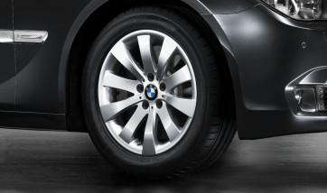 BMW Alufelge Sternspeiche 250 8J x 18 ET 30 Silber Vorderachse / Hinterachse BMW 5er F07 7er F01 F02 F04