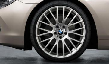 BMW Alufelge Kreuzspeiche 312 silber 8,5J x 20 ET 33 Vorderachse 5er F10 F11 6er F06 F12 F13