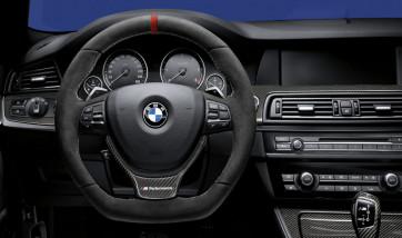 BMW M Performance Lenkrad Alcantara mit Carbonblende BMW 5er F07 F10 F11
