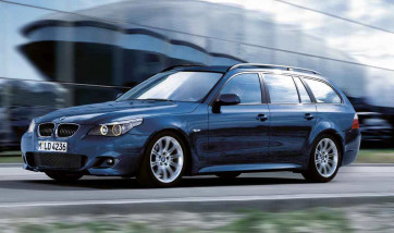 BMW M Aerodynamik Paket 5er E61 mit PDC