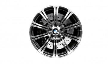 BMW Alufelge M Doppelspeiche 220 silber (geschmiedet) 9,5J x 19 ET 23 Hinterachse M3 E90 E92 E93